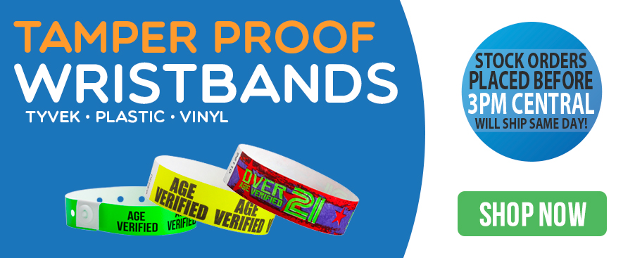 Tamper Proof Wristbands