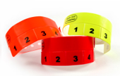 Vinyl Cash Tag 5 Tab Wristbands