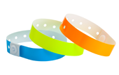 Plastic Wristbands Solids