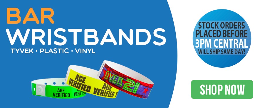 Bar Wristbands