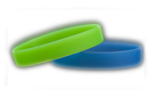 Silicone Glow Wristbands