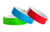"3/4"" Tyvek® 100 Count Wristbands"