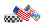 "1"" Design Tyvek® Wristbands"
