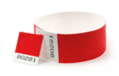 "1"" Voucher Tyvek® Wristbands"