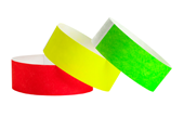 "1"" Tyvek® Wristbands Solids"