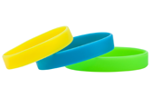 Solid Color Silicone Wristbands