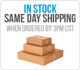 In stock same day shipping