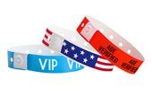 Plastic Wristbands 100ct Designs