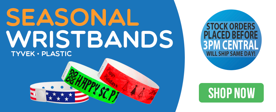 Seasonal wristbands